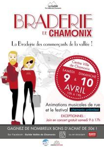 Braderie printemps chamonix 2016