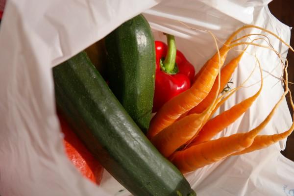 Interdiction des sacs plastiques à usage unique en caisse