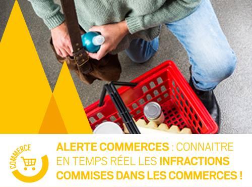 Alerte commerce : À l'approche des soldes, pensez à votre sécurité !