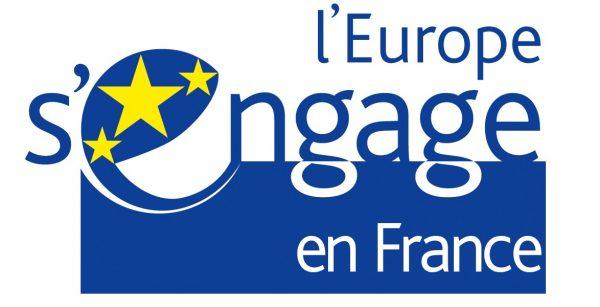 l'europe s'engage en france, logo